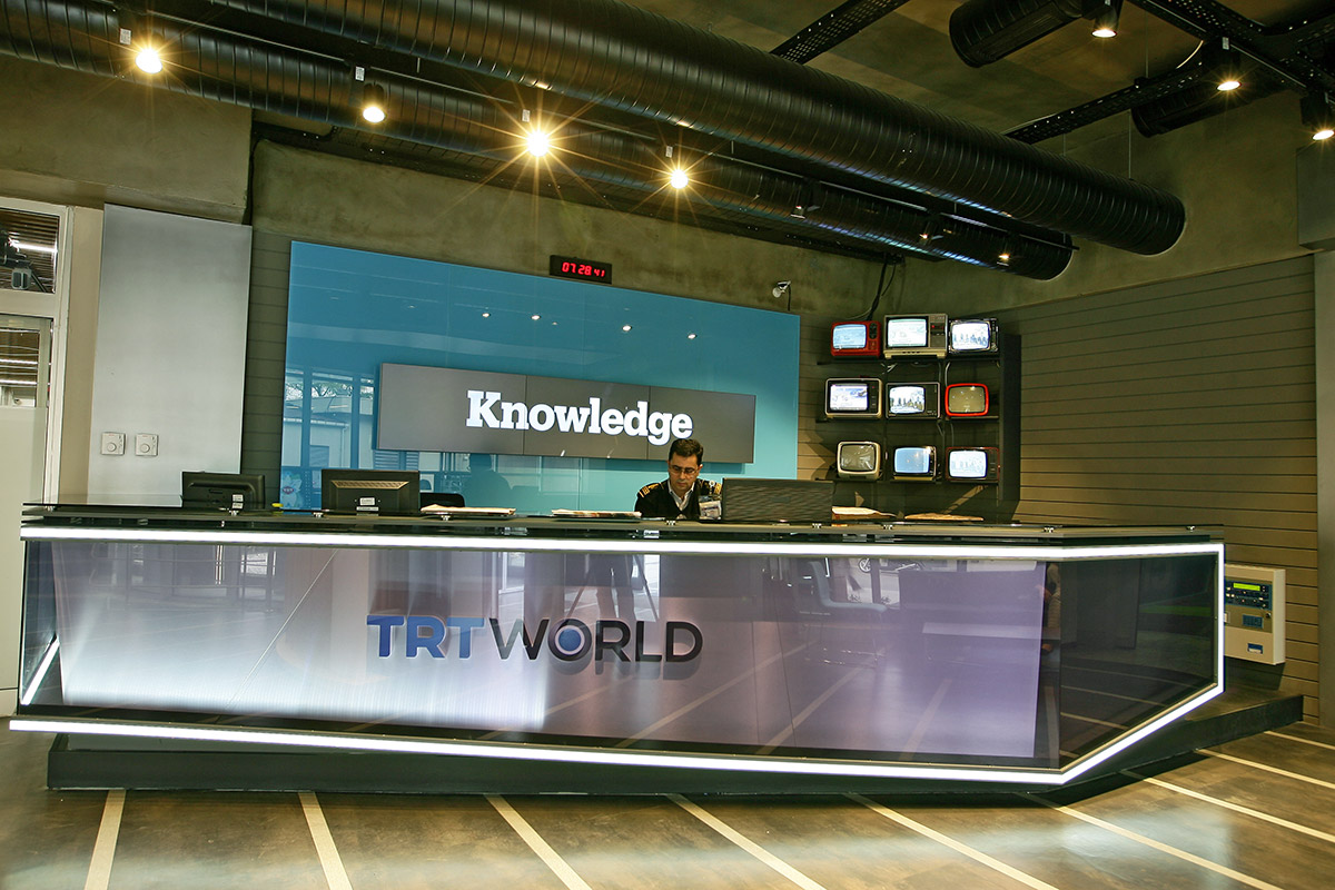TRT World Giriş - Karşılama
