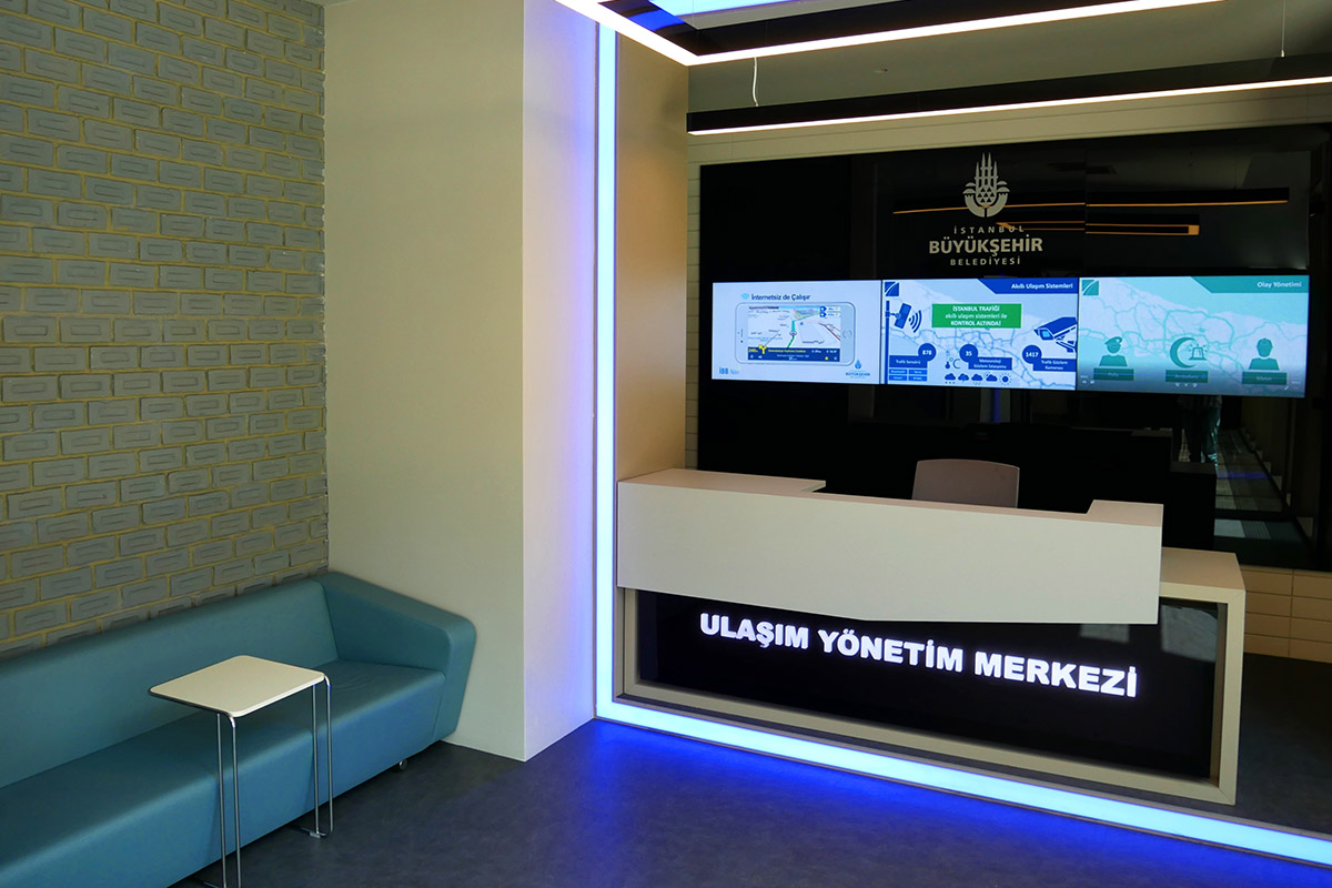 İBB Ulaşım Yönetim Merkezi