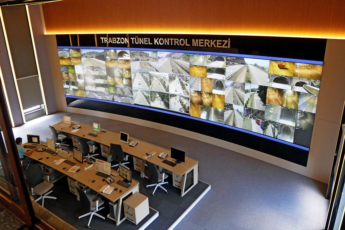 Trabzon Tünel Kontrol Merkezi