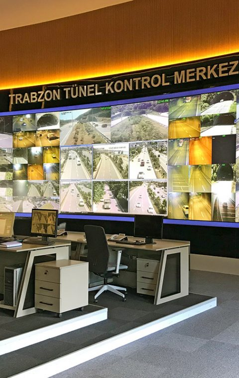 Trabzon Tunnel Control Center
