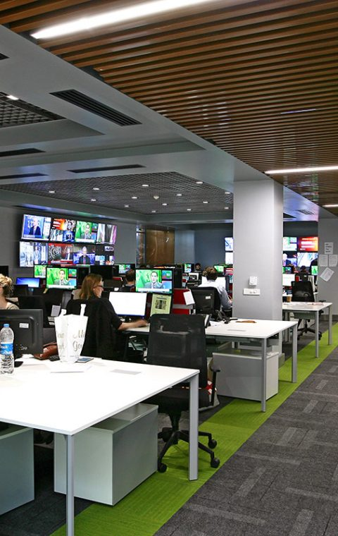TRT World Meeting Room and Offices