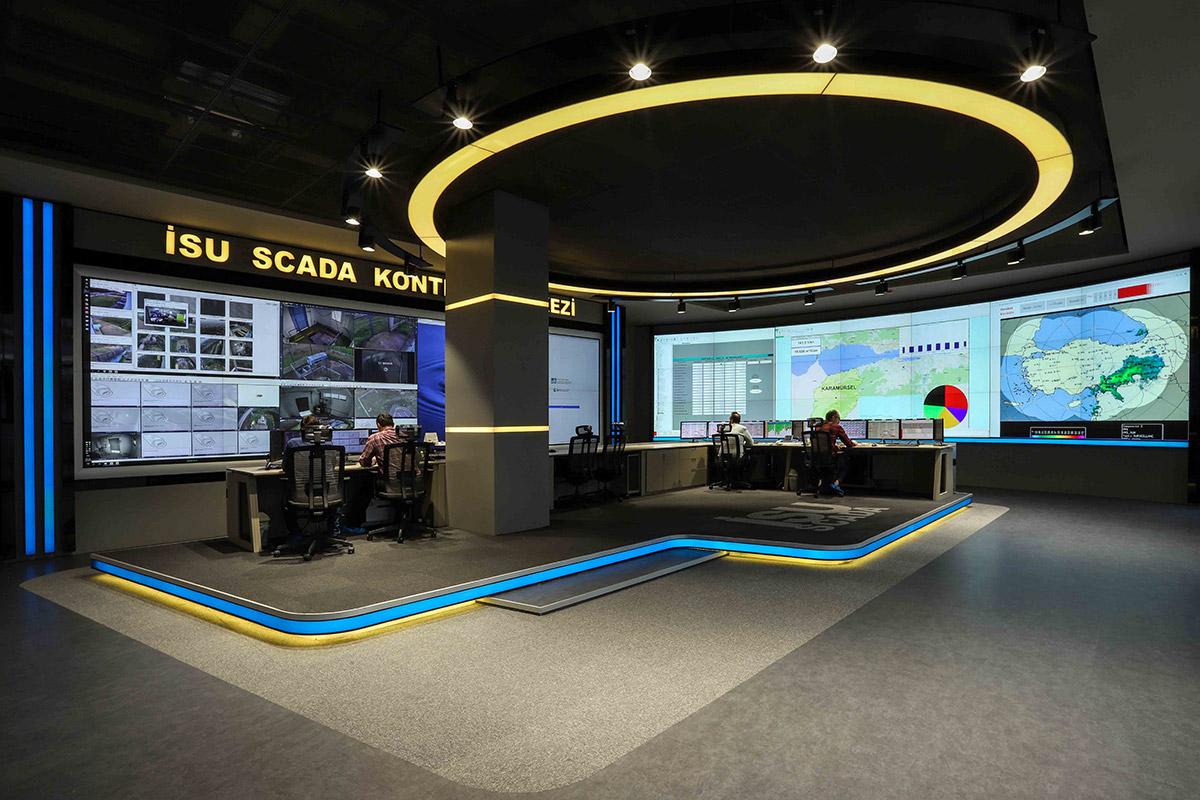 İSU Scada Kontrol Merkezi