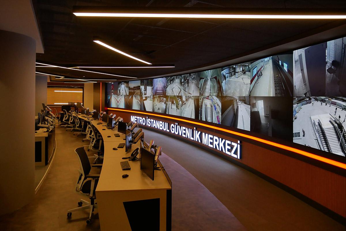 Metro İstanbul Güvenlik Merkezi