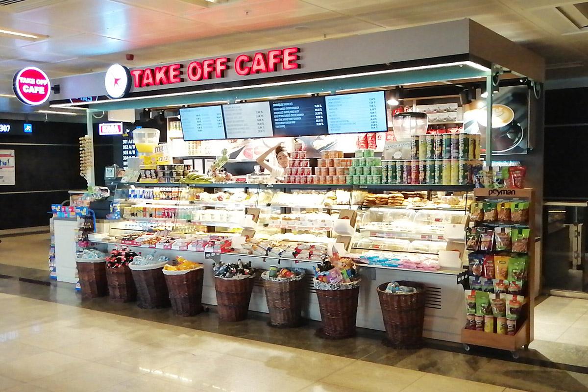 Sabiha Gökçen Havalimanı Take Off Cafe